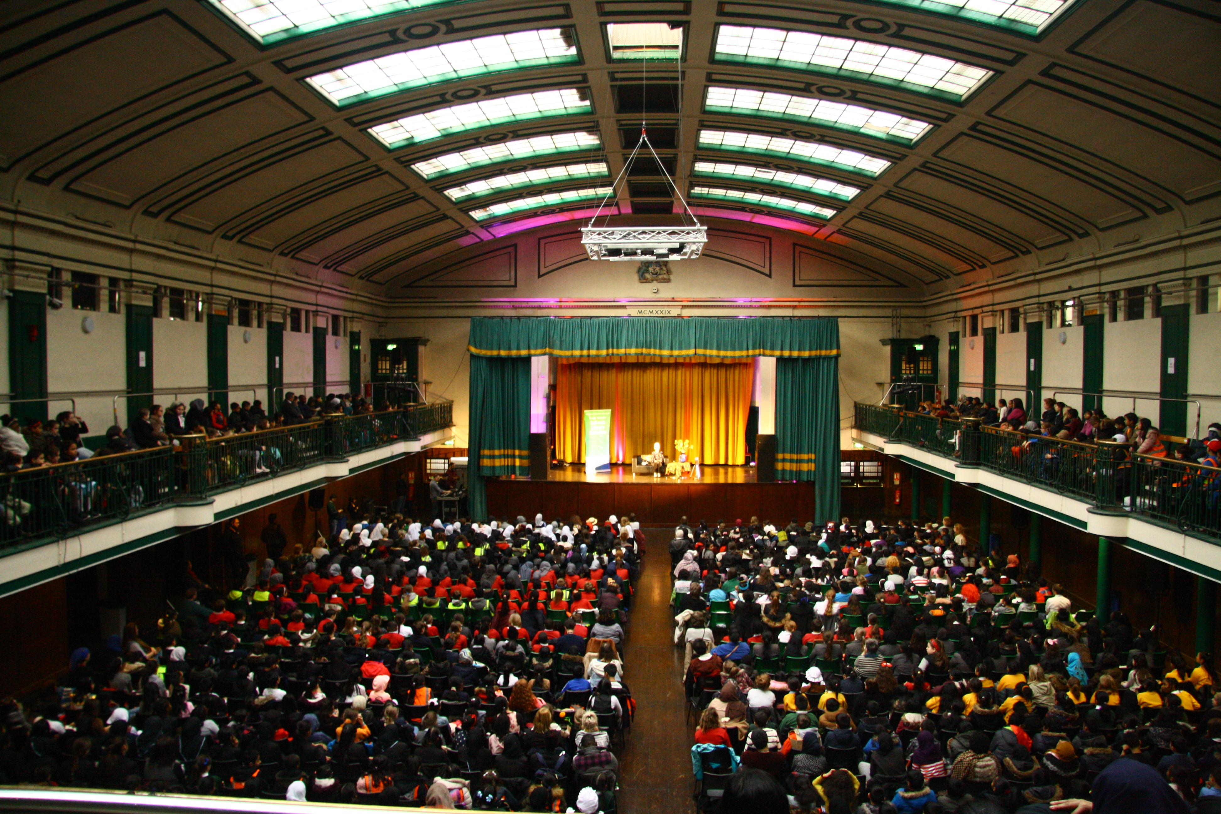 York hall1